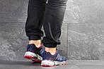 Мужские кроссовки Adidas Marathon (темно-синие с красным), фото 6
