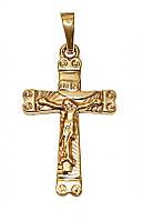 Крестик фирмы Xuping. Цвет: позолота.  Высота крестика : 3 см. Ширина: 15 мм.