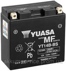 Акумулятор мото Yuasa MF VRLA 12.6 AH/ 210А YT14B-BS(CP)