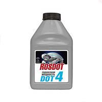 Гальмівна рідина РосДот - 4 0,25 л/0,250 кг (СІРА банку)
