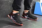 Чоловічі кросівки Adidas Marathon (чорно-помаранчеві), фото 2