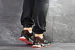 Чоловічі кросівки Adidas Marathon (чорно-помаранчеві), фото 3