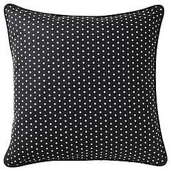 ИКЕА MALINMARIA, 104.262.48  Подушка, черный, белый с точками, 40x40 см