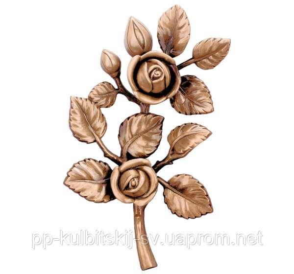 Квіти бронзові J1996