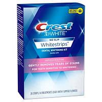 Отбеливающие полоски Crest 3D White Whitestrips Gentle Routine