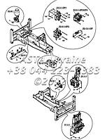 Шасси, рама, ходовая часть, гидравлические детали на Hidromek 102B
