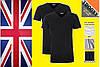 Оригинальная мужская футболка Trooxx - Великобритания. 100% хлопок. Три цвета.