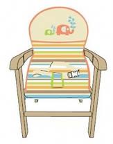 Детский стульчик для кормления Geoby MY-301, фото 3