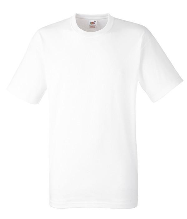 Мужская футболка плотная 3XL, 30 Белый