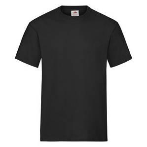 Чоловіча футболка щільна XL, 36 Чорний