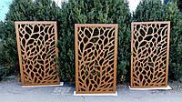 """Интерьерная перегородка """"Ветки"""", декоративные панели, деревянные ширмы, резные экраны, фото 1"""