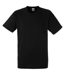 Чоловіча футболка щільна 2XL, 36 Чорний