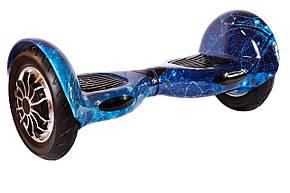 "Гироборд  Smart Balance Wheel 10.0"" c TaoTao (Самобаланс, Led, Bluetooth, сумка) Синий Космос, фото 2"