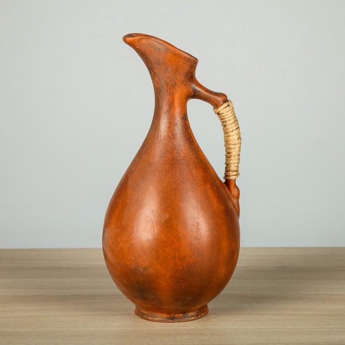 Кувшин глиняный 1,1 л винный, микс
