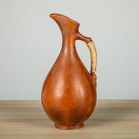 Кувшин глиняный 1,1 л винный, микс, фото 1