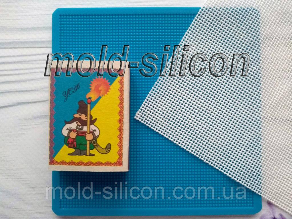 """Силіконовий килимок """"Сітка, крок вічка 1,5 мм"""" для гнучкого айсинга"""