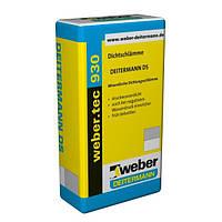 Гидроизоляционная обмазочная смесьWEBER.TEC 930(Deiterman DS) серый( уп.25кг)