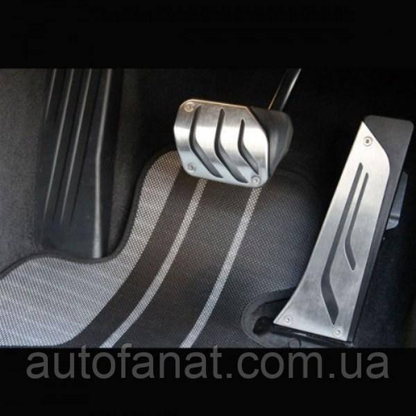 Оригинальные накладки на педали BMW Performance (АКПП) BMW X3 (G01) (35002232278)