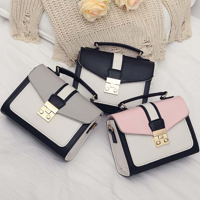 Двухцветная маленькая сумочка