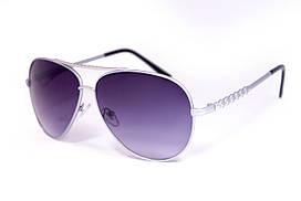 Мужские очки капля 512-4 серая оправа