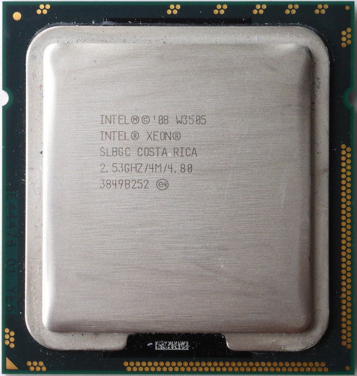 Процессор Intel Xeon W3505 /2(2)/ 2.53GHz + термопаста 0,5г