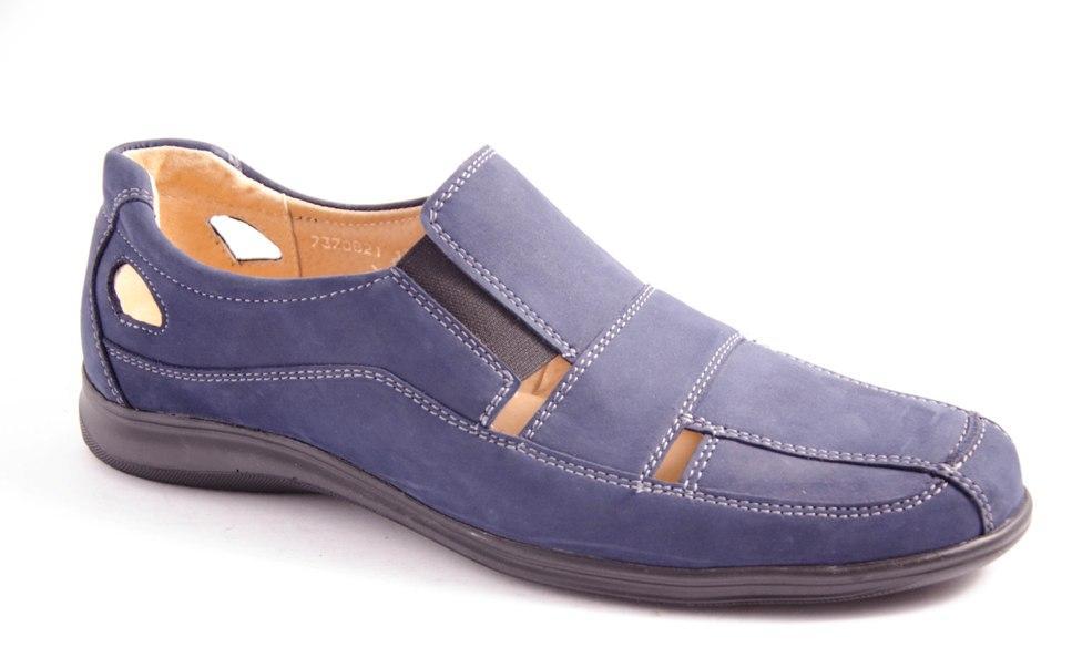 Туфли мужские синие Romani 7370821 р.40-45