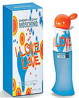 MOSCHINO I LOVE LOVE 30 мл (100% Оригинал) (EDT туалетная вода)