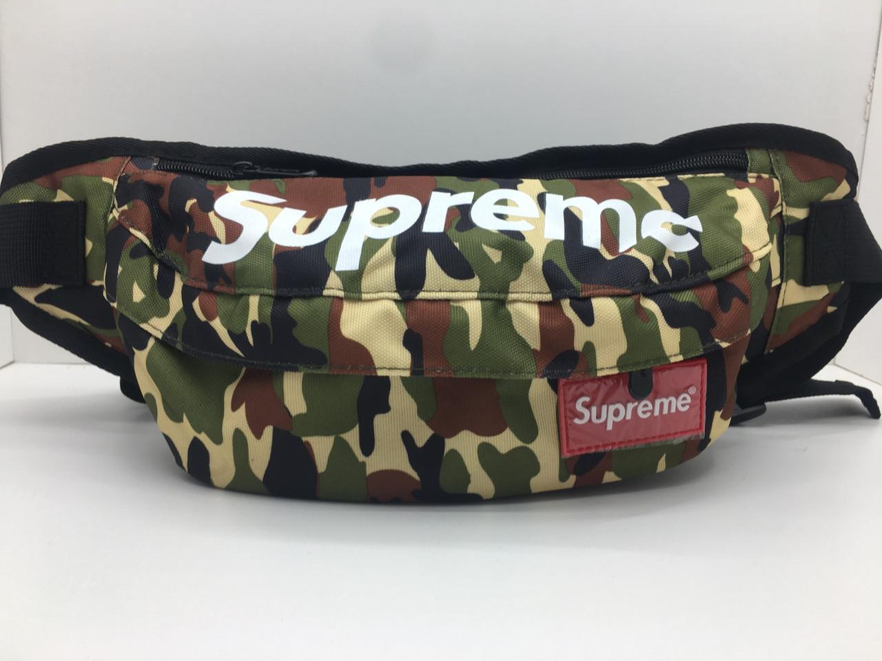 Поясная сумка Supreme Городской камуфляж сумка на пояс