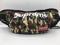 Поясная сумка Supreme Городской камуфляж сумка на пояс, фото 1