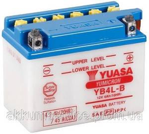 Аккумулятор мото Yuasa YuMicron 4.2AH/ 45А YB4L-B(CP)