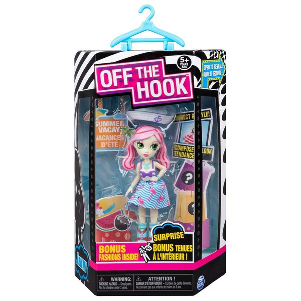 Стильная кукла Off the Hook серии Летний отпуск - Дженни (SM74300/0083)