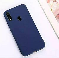 Чехол Candy Silicone для Samsung Galaxy A30 цвет Синий