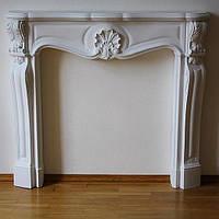Декоративный камин Эдельвейс - без подставки, каминный портал, фальш-камин, камин гипсовый.