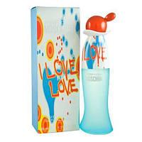 MOSCHINO I LOVE LOVE 50 мл (100% Оригинал) (EDT туалетная вода)