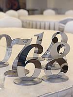 Номерки на столи(СРІБЛО)