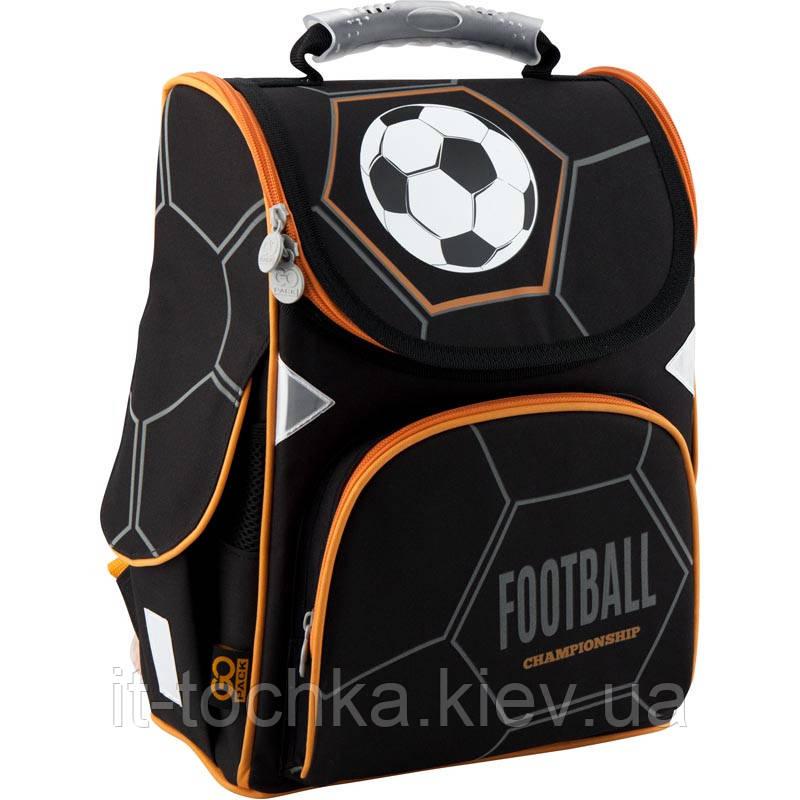 Набор школьный ортопедический рюкзак kite go19-5001s-8 Футбол для мальчика с пеналом