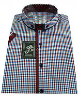 Мужская рубашка с коротким рукавом Т 12-17  7381V2, фото 1