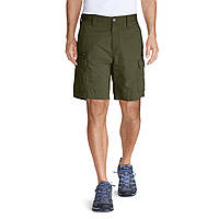 """Шорты Eddie Bauer Mens Versatrex 11"""" Cargo Shorts Solid DK THYME 32 Темно-зеленые (8040DKTE-32)"""