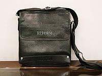 Мужская черная сумка код 7-7