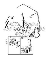Система стеклоочистителя лобового стекла на Hidromek 102B