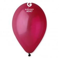 Воздушные шары  латексные, марсала 30 см.