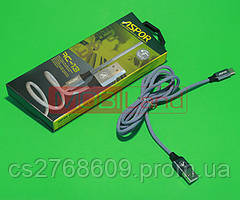 USB кабель Aspor AC-13t Type-C 2.4A/1.2m