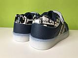 Кроссовки детские с подсветкой подошвы Boyang от Tom.m 21, 22, 23 р, фото 2