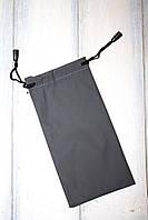 Мешочек для очков серый 3319