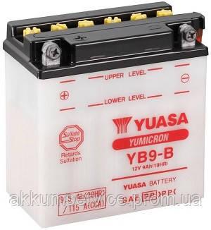 Аккумулятор мото Yuasa YuMicron 9.5AH/ 115А YB9-B(CP)