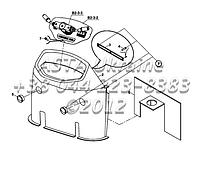 Панели приборов на Hidromek 102B