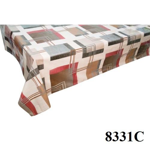 Клеенка (8331С) силиконовая, без основы, рулон. Китай. 1,37м/30м, фото 1