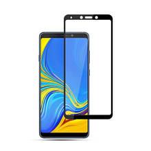 Защитное стекло Full Glue для Samsung A9 2018 (A920), чёрное