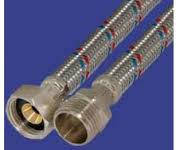 Шланги для подвода воды в нержавеющей оплетке  GROSS 1/2 30 см ГГ