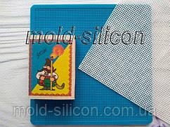 """Силиконовый коврик """"Сетка, шаг ячейки 1,5 мм"""" для гибкого айсинга"""